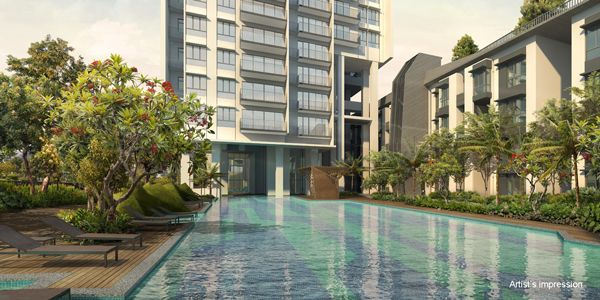 Highline Residences, swimming pool, pool view, facilities, luxurious condominium, olympic grand pool