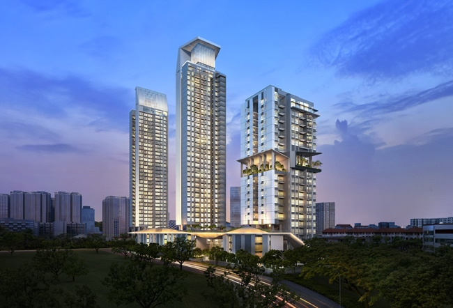 Highline Residences, luxurious condominium, kim tian road, tiong bahru, heritage estate,  thumbnail