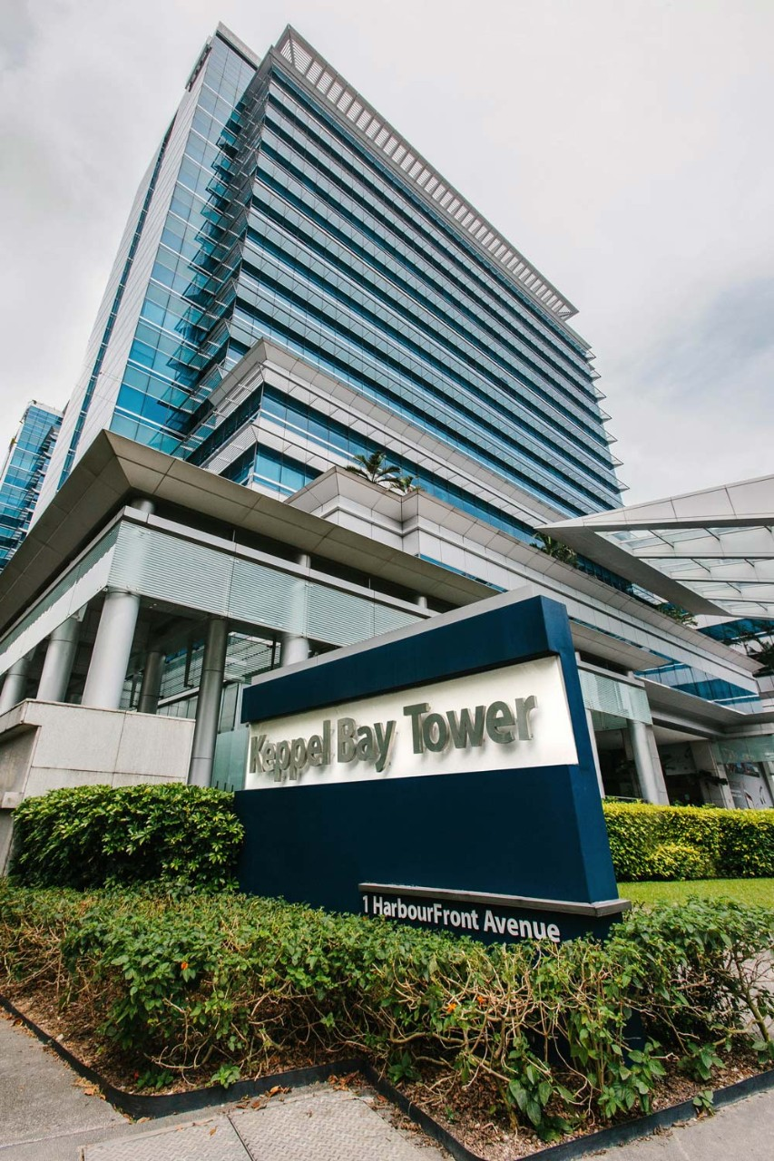 Keppel Bay Tower, Singapore, Harbourfront, waterfront business hub, near Marina at Keppel Bay, Mount Faber and waterfront residences, near CBD, PSA, and Sentosa