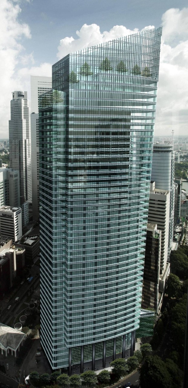 Ocean Financial Centre, OFC, Keppel Land, CBD, Singapore, centre of business and leisure, Raffles Place
