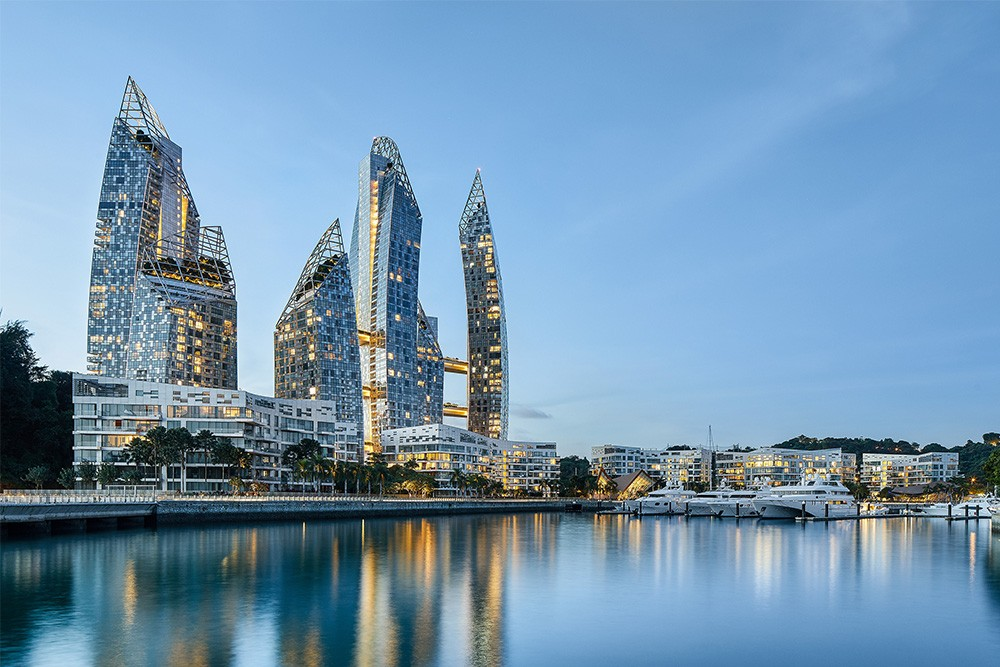 reflections at keppel bay, keppel land, marina at keppel bay, waterrfont living, luxury