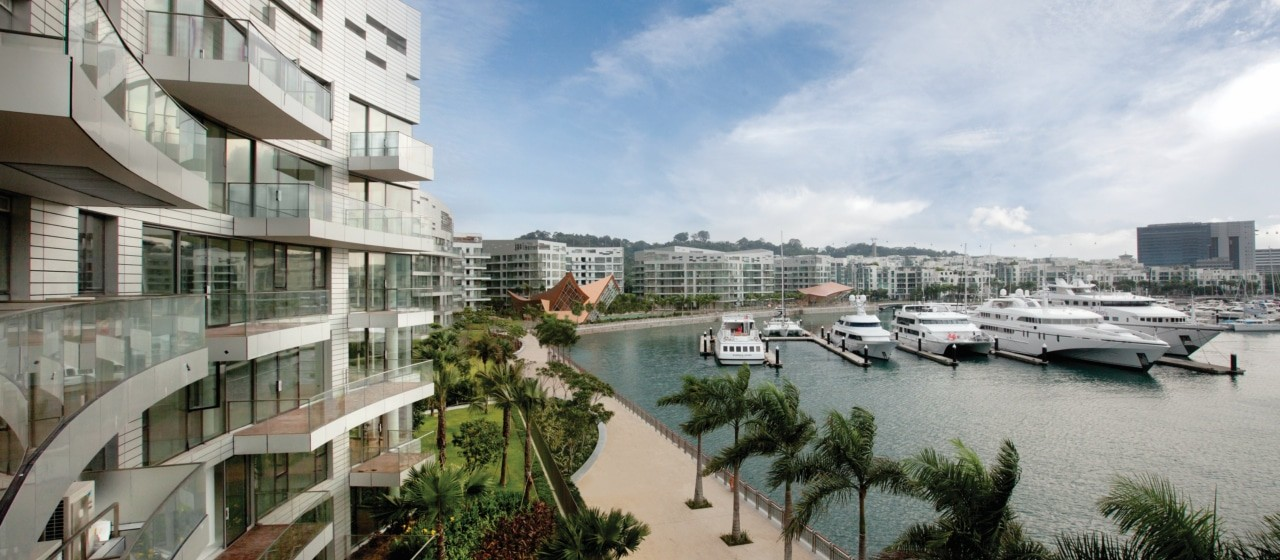 Reflections, Keppel Bay, promenade, waterfront lifestyle, sea view