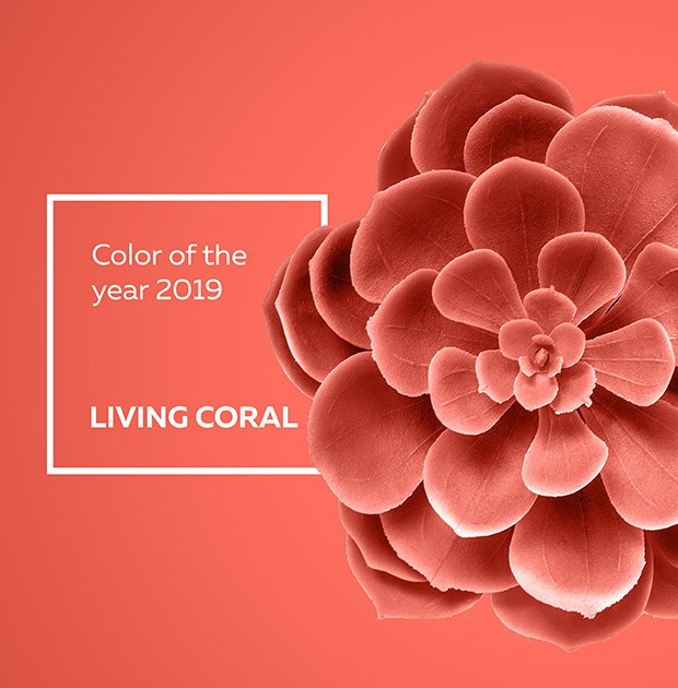2019 pantone, colour of the year, living coral, pink, red, home, deco, trends, tips