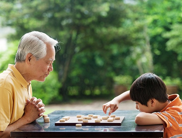 multigenerational, grandfather, kid, boy, child, tiong bahru, bonding