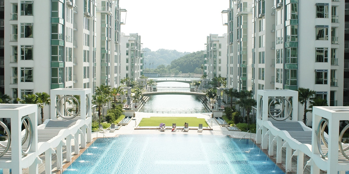 caribbean at keppel bay, caribbean, keppel land, condominium, property, luxury, keppel bay