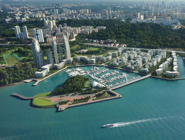 keppel bay, reflections at keppel bay, marina at keppel bay, keppel land, harbourfront, yacht, luxury, marina