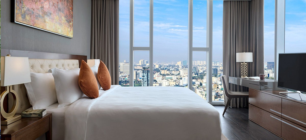 sedona suites, ho chi minh city, vietnam, keppel land, grand tower, where to stay