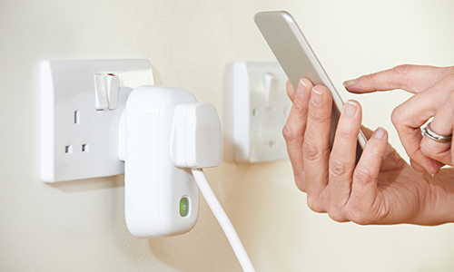 smart electrical outlet, save energy, socket,