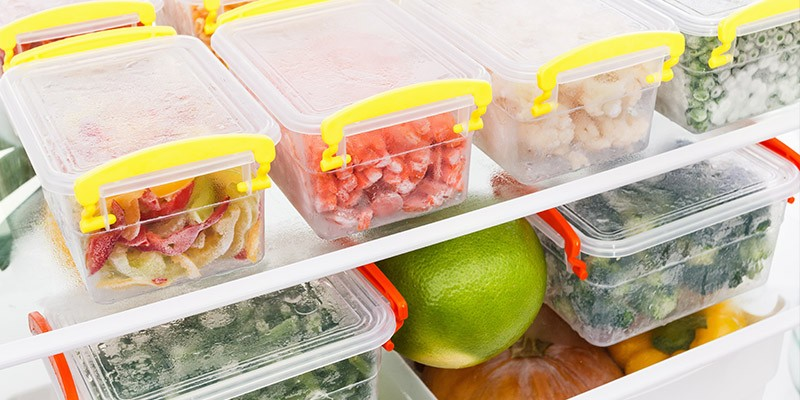 recycle food, overnight food, reduce waste, use air tight containers