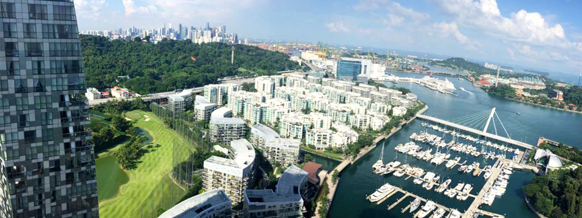 reflections at keppel bay, keppel land, view, marina view, luxury, yacht, golf course, sea view