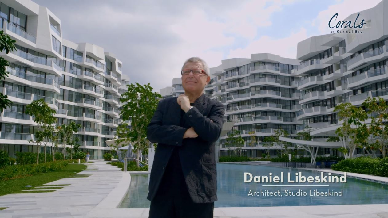 daniel libeskind, corals at keppel bay, keppel land, waterfront home, luxury home, architecture, inspiration, designer home