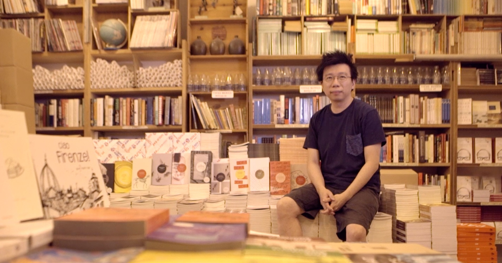 Kenny Leck, local designer, singaporean, books actually, book store, tiong bahru insider, keppel land, highline residences